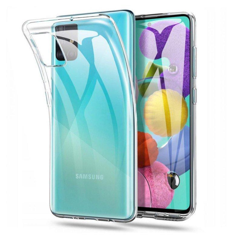 Futerał Back Case Ultra Slim 0,5mm do SAMSUNG Galaxy M51