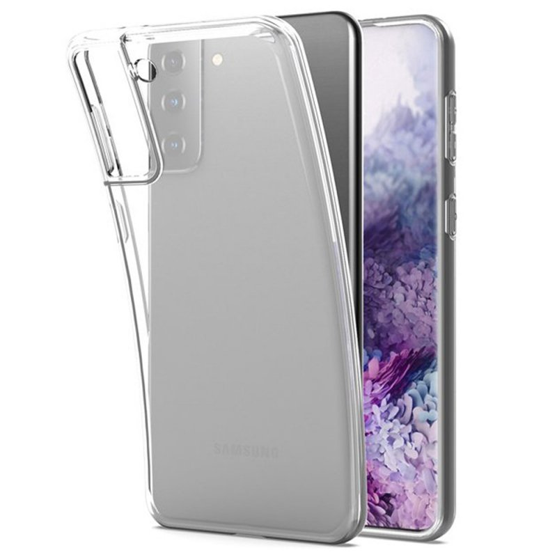 Futerał Back Case Ultra Slim 0,3mm do SAMSUNG Galaxy S21 Plus transparent