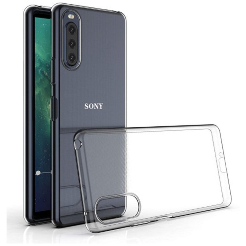 Futerał Back Case Ultra Slim 0,5mm do SONY Xperia 10 II