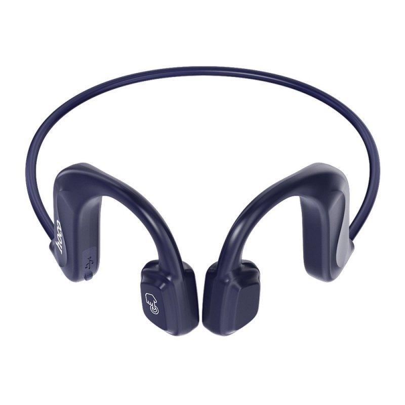 HOCO słuchawki bluetooth kostne stereo Rima ES50 niebieskie