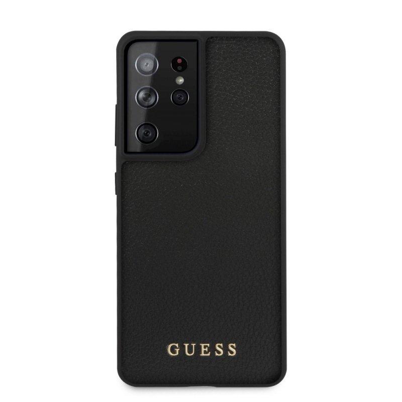 Oryginalne Etui GUESS Hardcase GUHCS21LIGLBK do Samsung S21 Ultra czarny