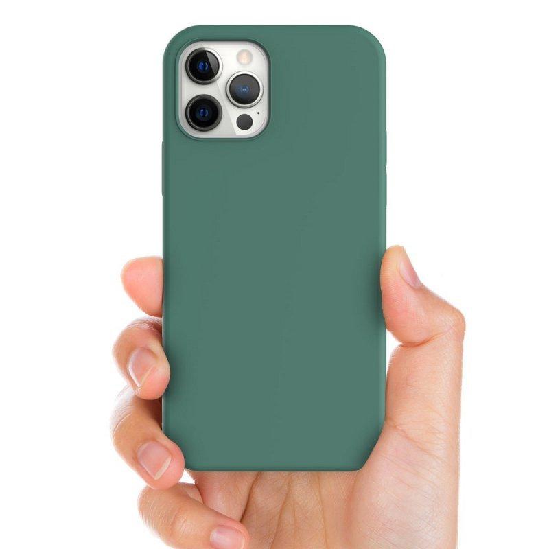 Futerał ARAREE Typoskin do IPHONE 12 MINI zielony