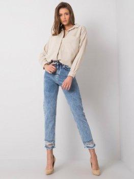 Spodnie jeans-334-SP-068.04-niebieski