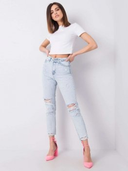 Spodnie jeans-336-SP-943.38P-jasny niebieski