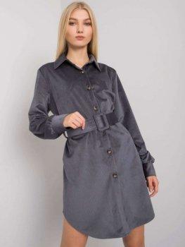 Sukienka-DHJ-SK-10333.12P-grafitowy