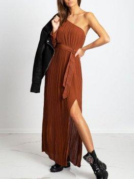Sukienka-EM-SK-P8801.55P-brązowy