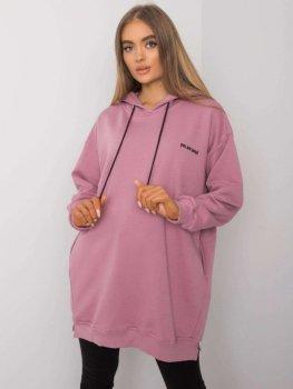 Bluza-RV-BL-7097.26-ciemny różowy