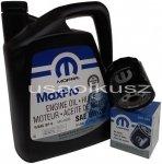 Olej MOPAR 5W20 oraz filtr oleju silnika Dodge Caliber
