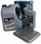 Filtr oraz olej Dextron-VI automatycznej skrzyni biegów 4SPD Chrysler Cirrus