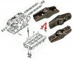 Dźwigienka zaworowa Chrysler Voyager 2,5 CRD 2,8CRD