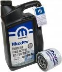Filtr oleju + olej MOPAR 10W30 Dodge Avenger V6 -2008