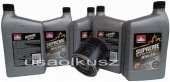 Filtr oraz syntetyczny olej 10W30 Jeep Comanche MJ 4,0 1991-