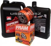 Filtr oraz mineralny olej 5W30 Grand Am