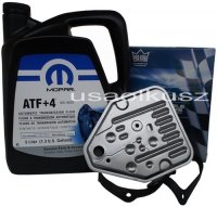 Olej MOPAR ATF+4 oraz filtr automatycznej skrzyni 3SPD Chrysler Saratoga