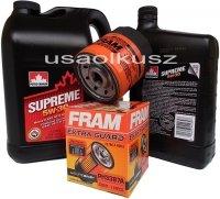 Filtr oraz mineralny olej 5W30 Oldsmobile Intrigue 3,8 V6