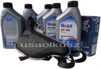 Filtr oraz olej skrzyni biegów Mobil ATF320 Saturn Relay 2005-2007
