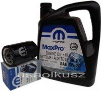 Orygimalny MOPAR filtr oraz olej 5W20 Dodge Ram 3,7 V6 2009-