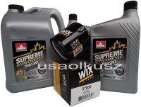 Filtr oraz syntetyczny olej 5W30 GMC Sierra 2007-