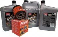 Filtr oraz syntetyczny olej 5W30 Hummer H2