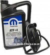 Olej MOPAR ATF+4 oraz filtr automatycznej skrzyni biegów NAG1 Chrysler Crossfire