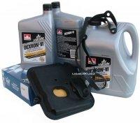 Filtr oraz olej Dextron-VI automatycznej skrzyni biegów 42RL Mitsubishi Raider 3,7