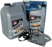 Filtr oraz olej Dextron-VI automatycznej skrzyni biegów Nissan Maxima 3,0 -1997