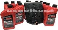 Filtr oraz olej Mercon SP automatycznej skrzyni biegów 6R60 Mercury Mountaineer 2006-2008