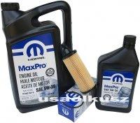 Olej MOPAR 5W30 oraz oryginalny filtr Volkswagen Routan 3,6 V6 2014
