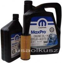 Olej MOPAR 5W30 oraz oryginalny filtr Volkswagen Routan 3,6 V6 -2013