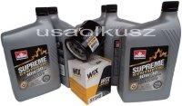 Filtr oleju oraz syntetyczny olej 10W30 Jeep Liberty 2,4 16V