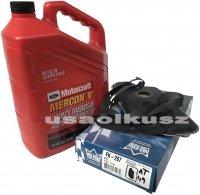 Filtr oraz olej skrzyni biegów Motorcraft Ford Bronco 2WD