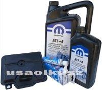 Filtr olej MOPAR ATF+4 skrzyni biegów 6-SPD 62TE Lancia Flavia 3,6 V6