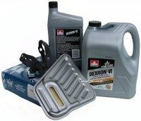 Filtr oraz olej Dextron-VI automatycznej skrzyni biegów AXODE Lincoln Continental -1995