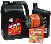 Filtr oleju oraz olej SUPREME 10W30 Pontiac Trans Sport 3,4 / 3,8 V6