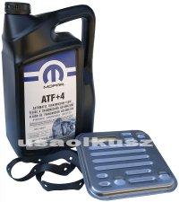 Olej MOPAR ATF+4 oraz filtr automatycznej skrzyni 4SPD Dodge Avenger