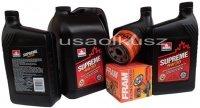 Olej 5W30 oraz filtr oleju silnika Saab 9-7X V8