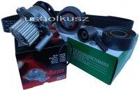 kpl rozrząd napinacz rolki pasek pompa wody Jeep Patriot 2,0TD