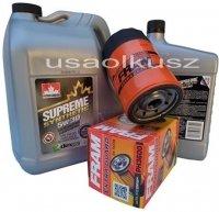 Filtr oleju oraz syntetyczny olej 5W30 Dodge Ram 1500 3,7 V6 -2008
