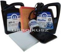 Olej MOPAR filtr kabiny powietrza oleju skrzyni Chrysler Voyager Town Country 2001-2006
