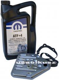 Olej MOPAR ATF+4 oraz filtr automatycznej skrzyni 3SPD Dodge Caravan