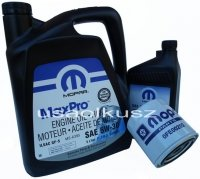Oryginalny MOPAR filtr oraz mineralny olej 5W30 Jeep Grand Cherokee 4,7 V8 -2008