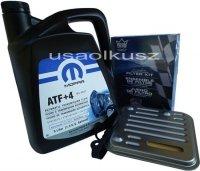 Olej MOPAR ATF+4 oraz filtr automatycznej skrzyni 4SPD Chrysler Saratoga