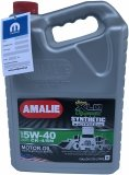 Olej 5W-40 API SERVICE CJ-4 CK4 CK-4 CK4 CI-4 PLUS CI4 / SN Amalie Super XLO Turbo Diesel z DPF MS-10902 RAM 1500 3,0 TD