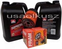 Filtr oleju oraz olej SUPREME 5W30 Chevrolet TrailBlazer 4,2