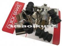 Zestaw montażowy tylnych klocków hamulcowych Lincoln MKS