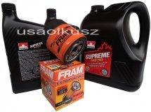 Olej 5W30 oraz filtr oleju silnika GMC Sierra -2006