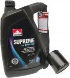 Filtr oleju oraz olej SUPREME 10W30 Chrysler PT Cruiser