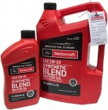 Olej silnikowy Motorcraft 5W20 SYNTHETIC BLEND MOTOR OIL 5,67l Lincoln Mercury