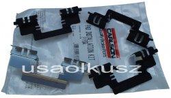 Zestaw montażowy tylnych klocków Cadillac Escalade 2007-
