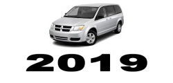 Specyfikacja Dodge Caravan 2019